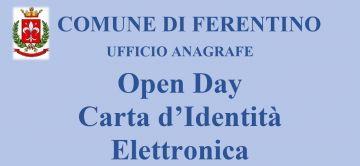 Open Day Carta d'Identità  Elettronica